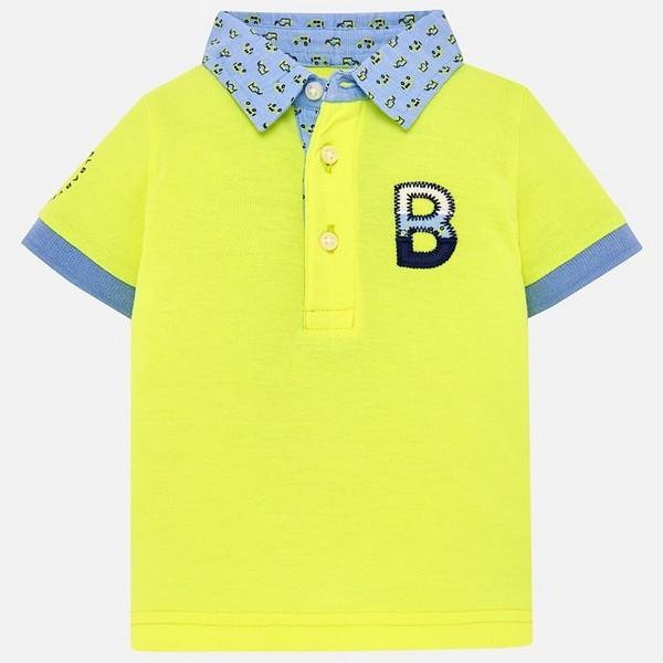 f5280bec47a Тениска с яка за момче Mayoral